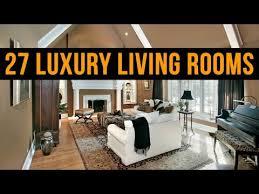 27 Luxury Living Room Designs
