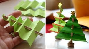 Christmas Craft Ideas For Kids Handmade Trees From Pertaining To Hand