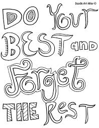 Motivational Quotes Coloring Pages Quotesgram