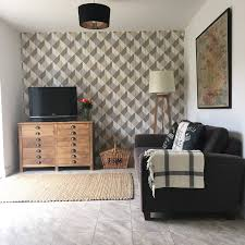 Rustic Living Room Wallpaper Woes Lisa Rock My Style Uk Daily Lifestyle Blog