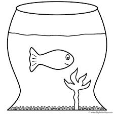 Goldfish In Fish Bowl