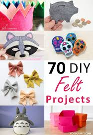 Felt Craft Projects 70 DIY Ideas Made with Felt