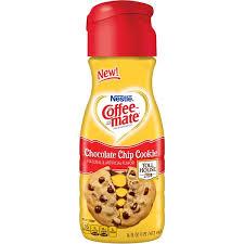 NestlAC Coffee Mate Toll House Chocolate Chip Cookie Liquid Creamer