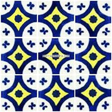 mexican talavera classic tile alvarez terra artesana