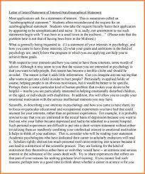 7 graduate school letter of intent