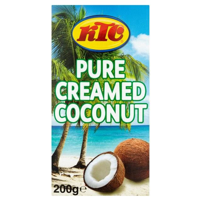 KTC Pure Creamed Coconut - 200g