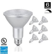 xtricity par30 led neck dimmable flood light bulb 10 5w 75w