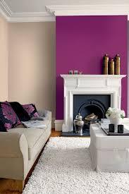 30 neu deko wohnzimmer lila wandfarbe zimmergestaltung