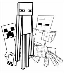 Are You Looking For The Best Minecraft Coloring Page Your Kids This Is Probably Can Include In Childs List Of Fun