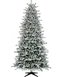 Pre Lit Flocked Christmas Tree Canada by Amazing Deal On 9ft Prelit Full Artificial Christmas Tree Flocked