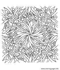Zen Anti Stress Adult Coloring Pages