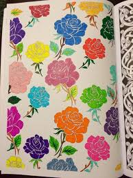 Vintage Patterns And Colouring For Grown Ups