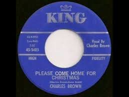 Charles Brown Please e Home For Christmas