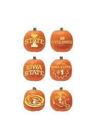 Boston Terrier Pumpkin Pattern by Iowa State Cyclones Pumpkin Carving Kit 1381091