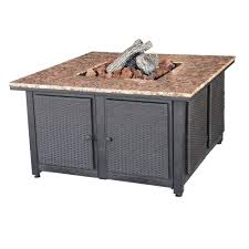 Gas Table Fire Pit Savanna Stone Gas Fire Pit