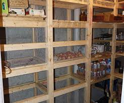 Cold Storage Room In House Basement Canning Unit