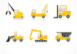 Free Construction Vehicles Vector Icons - Download Free Vector Art ...