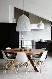 runder esstisch wohnzimmer dekoration eetkamertafel
