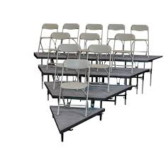 4 tier wedged seated risers 4 tier wedged seated risers wedged