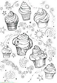 Cupcake Coloring Sheets Printables Printable Pages Cupcakes