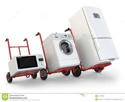 100 Appliance Truck Delivery Hand Fridge Washing Machine And