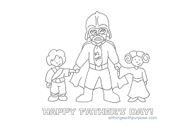 Printable Coloring Fathers Day Card Fun Images