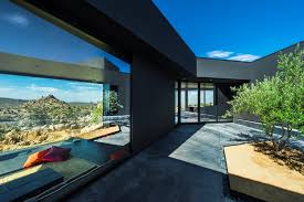 104 Mojave Desert Homes Black House Oller Pejic Architecture Archdaily