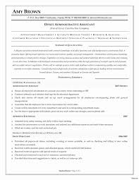 Medical Assistant Resume Template Fresh Administrative Samples Examples 2017 2013 2016