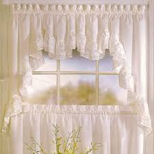 Spacious Modern Ideas Kitchen Curtains And Valances Country Style At