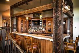 Rustic Bar Ideas Design Accessories &