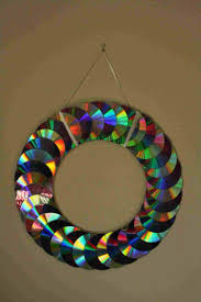 CD Hanging Craft Work With Waste Materials Learn For Kids