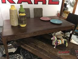 kare design walnut table esstisch wohnen tisch