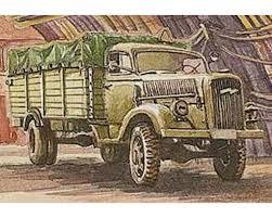 713 1/72 WWI FWD Model B 3-Ton Army Truck W/8