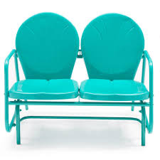 Aqua Blue Teal Turquoise Steel Frame Outdoor Bench Loveseat Glider ... Intertional Caravan Valencia Resin Wicker Steel Frame Double Glider Chair Details About 2seat Sling Tan Bench Swing Outdoor Patio Porch Rocker Loveseat Jackson Gliders Settees The Amish Craftsmen Guild Ii Oakland Living Lakeville Cast Alinum With Cushion Fniture Cool For Your Ideas Patio Crosley Metal And Home Winston Or Giantex Textilene And Stable For Backyardbeside Poollawn Lounge Garden Rocking Luxcraft Poly 4 Classic High Back