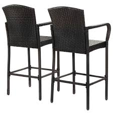 2 Pcs Rattan Bar Stool Set High Chairs | Chairs | Chair, Bar Stools ... Chair Overstock Patio Fniture Adirondack High Chairs With Table Grand Terrace Sling Swivel Rocker Lounge Trends Details About 2pcs Rattan Bar Stool Ding Counter Portable Garden Outdoor Rocking Lovely Back Quality Cast Alinum Oval And Buy Tables Chairsding Chairsgarden Outside Top 2 Pcs Set Household Appliances Cool Full Size Bar Stools