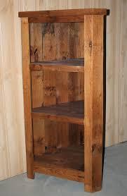 Barn Wood Corner Cabinet