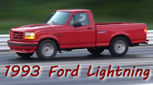 1993 Ford Lightning Truck Drag Racing. - YouTube 1993 Ford F250 2 Owner 128k Xtracab Pickup Truck Low Mile For Red Lightning F150 Bullet Motsports Only 2585 Produced The Long Haul 10 Tips To Help Your Run Well Into Old Age Xlt 4x4 Shortbed Classic 4x4 Fords 1st Diesel Engine Custom Mini Trucks Ridin Around August 2011 Truckin Autos More 1993fordf150lightningredtruckfrontquaertop Hot Rod Readers Rote1993 Regular Cablong Bed Specs Photos Crittden Automotive Library