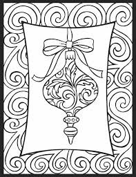 Dover Christmas Cheer Stained Glass Coloring Book Page 3