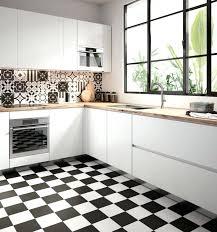 credence cuisine noir et blanc cuisine blanc et noir cuisine blanche noir et bois massilia