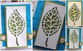 Simple Paper Cutting Art Template For Kids Step By