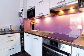 Glass Splashback Fushia In Kitchen By Metro