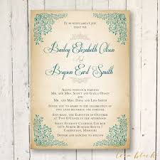 Rustic Wedding Invitation TEMPLATE Von TeraBlackDesigns Auf Etsy