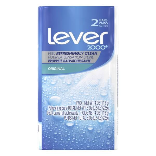 Lever 2000 Original Refreshing Bar Soap - 4.5oz, 2ct