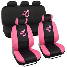Amazon Com Lady High Heel Shoe Seat Covers For Car W Triple Pink 2 ... Car Seat Covers Cushions Auto Accsories The Home Depot Cover Wpocket Blackgray Leather Peterbilt Freightliner Semi Trucks Seats Positive Black Talon Suspension Model Monthlyspecial Seat Trucking Trucker Comfort Instock Buy Superlamb 701003mushroom Sheepskin Mushroom Custom Fia Leader In Fit Universal Rixxu Camo Series Best Massages The Business Motor Trend Coverking Genuine Customfit Truck New 81 Oxford Dog A Semi Truck Driver Was Texting While Driving And Smashed Into This