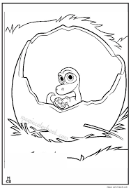 Good Dinosaur Coloring Pages Free Printable 30