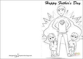 Click The Happy Fathers Day Card Coloring Pages To View Printable Version Or Color It Online Compatible With IPad And Android Tablets
