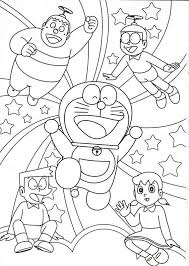 Doraemon Coloring Page Printable For Free