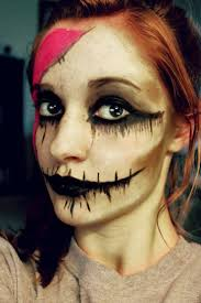Scary Halloween Half Masks by Complete List Of Halloween Makeup Ideas 60 Images