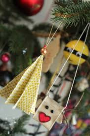 It Wasnt Long Before I Had An Adorable Folded Fabric Tree Ornament