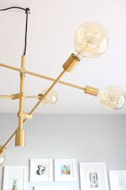 Modern Dining Room Light Fixtures by Design Evolving Mid Century Modern Dining Room U0026 My New Light